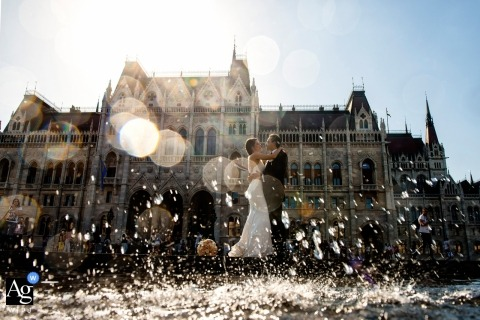 Melinda Guerini Temesi is an artistic wedding photographer for Budapest
