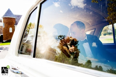 Ritratto di fotografia di matrimonio artistico di Ryland Inn Coach House | Foto di matrimoni in New Jersey