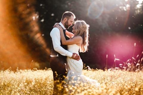 Northbrook Park-huwelijk met Chloe en Jonathan