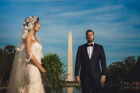 Lincoln Memorial Washington DC Wedding