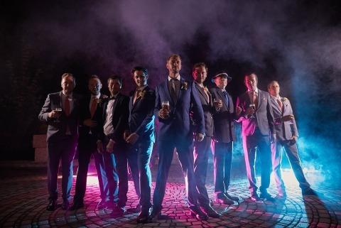 Cary & the best men - destination wedding Slovakia