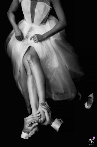 Ken Pak ist ein künstlerischer Hochzeitsfotograf für District Of Columbia