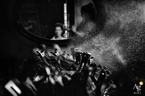 Elena Haralabaki is an artistic wedding photographer for Attica