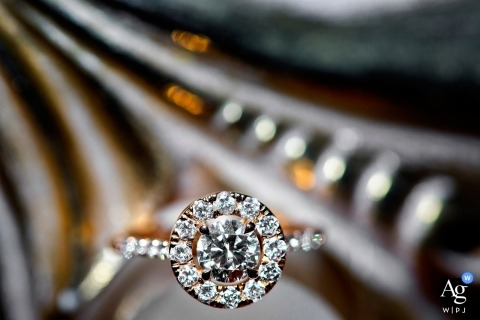 Athens wedding photo detail shot of rings | capturing weddings artistic-style