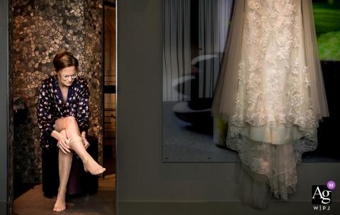 Marlies Dekker jest artystycznym fotografem ślubnym dla Zuid Holland