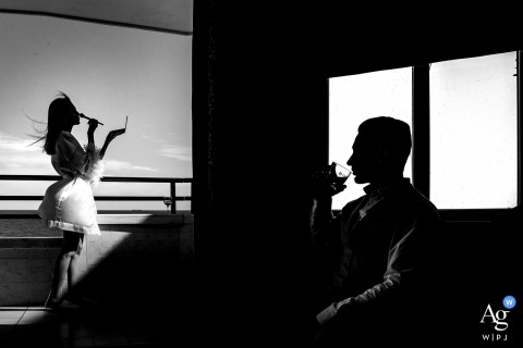 Mersin wedding day photographer | different portrait styles of the couple