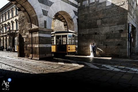 Matteo Reni is an artistic wedding photographer for Varese