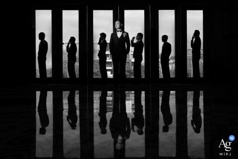 Joy Qin is an artistic wedding photographer for