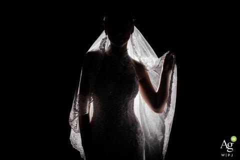 Allegro Buffet - São Caetano do Sul wedding venue bride silhouette photography