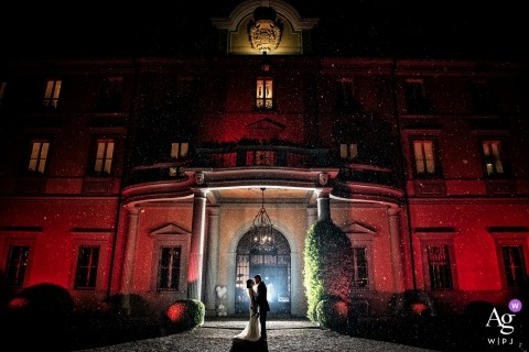 Villa Acquaroli, Carvico, Italy - Wedding Photography.... and they were happy and content