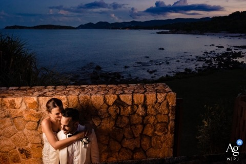 Liam Collard is an artistic wedding photographer for Phuket