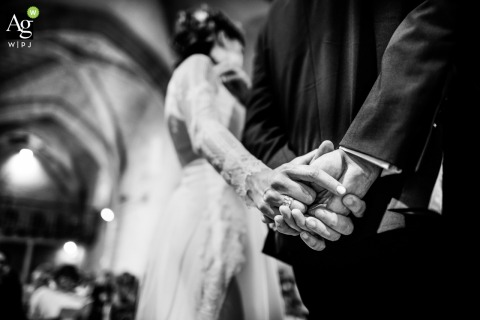 Franck Petit is an artistic wedding photographer for