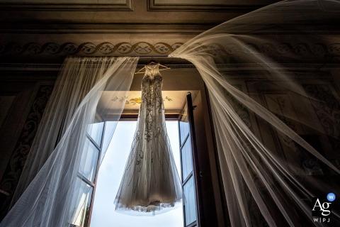 Alessandro Colle jest artystycznym fotografem ślubnym dla Massa-Carrara