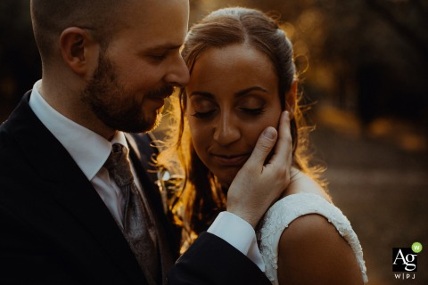 David Pommier is an artistic wedding photographer for
