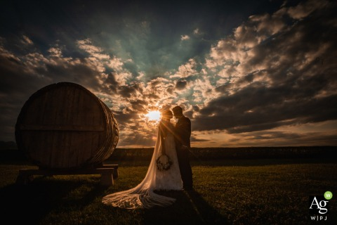 Katarzyna Estate, Svilengrad, Bulgaria Wedding Venue Photo | Sunset and Love, Bride and Groom