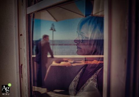 Lerici Reflection wedding photography | Mom and groom?