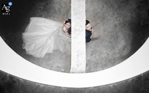 Lin Yang is an artistic wedding photographer for