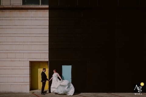 Monika Zaldo is een artistieke trouwfotograaf voor Guipuzcoa