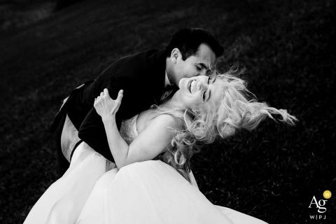Trent Gillespie est un photographe de mariage artistique pour le Colorado