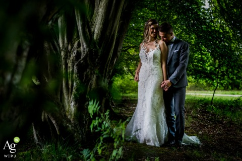 Bokrijk Bride and Groom Photography | Romance Portrait Session in the forest