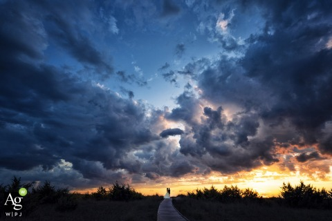costa dei barbari sunset photography portrait on wedding day | under the clouds