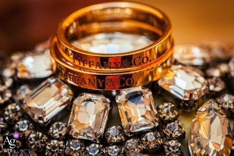 Terni Wedding rings detail photography in Gold