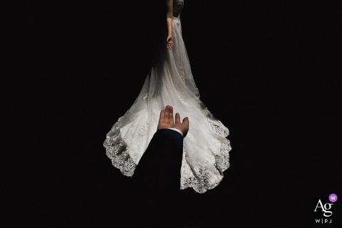 Fujian Hotel Wedding Venue Portrait Session - Invite bride to dance