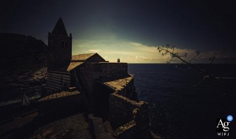 Portovenere - San Pietro wedding photography - I love you and our sea