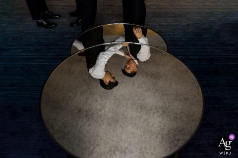 W Hotel Midtown Atlanta Bilder vom Hochzeitsort: Immer bereit Reflexion der Trauzeugen
