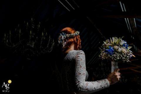 Photographe de mariage Lautertal - Le bouquet et la mariée
