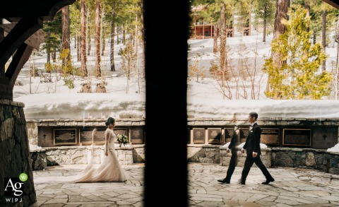 California - Northern Church Photo of the Bride and Groom | Transporting into One