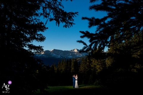 Wheeler lakes wedding photographer | Sunrise glow on the Ten Mile range.