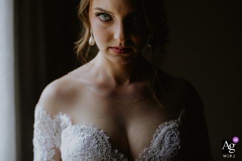 Photos de mariage de l'hôtel Weiand Lajeado-RS de la mariée le jour du mariage.