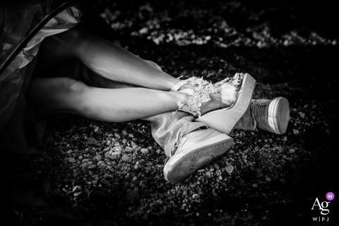 Savona Priamar Fine Art Wedding Photo | Detail in love | Shoes
