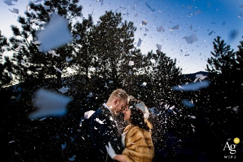 Jesse La Plante is an artistic wedding photographer for Colorado