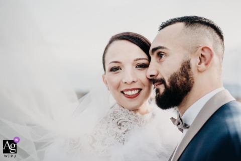 勒卡内昂鲁西永的Les Cabanes desPêcheurs| 婚礼情侣肖像