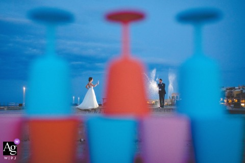 siracusa love is like a light drink for this couple during their wedding portrait session