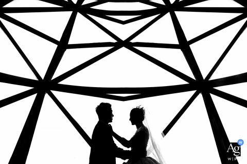Zhejiang Hotelvenue image of the Bride and groom on wedding day
