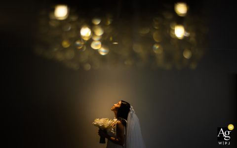 Alagoas Artistic Portrait of the Bride at her home
