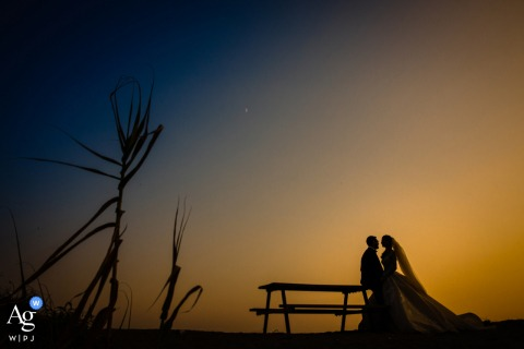 Cappadocia, Kapadokya, Turkey creative couple wedding portrait sunset love in a lovely atmosphere