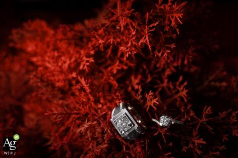 Fujian artistic wedding detail imageof wedding rings