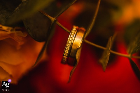 Four Points, Sheraton Singapore art wedding ring detail picture created when When wedding rings band together