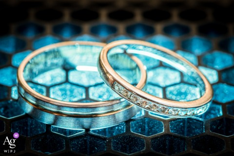 Strasbourg, Bas-Rhin fine art wedding rings detail picture