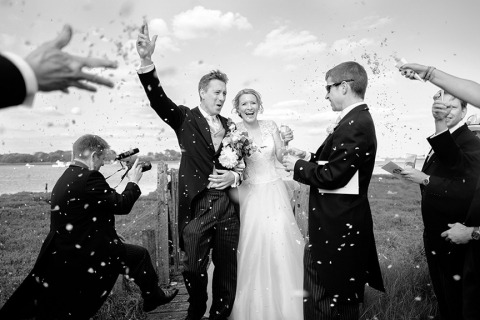 Wedding Photographer Linus Moran of Dorset, United Kingdom