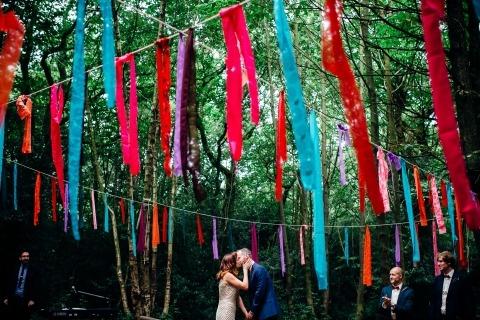 Marianne Chua colorida ceremonia de boda