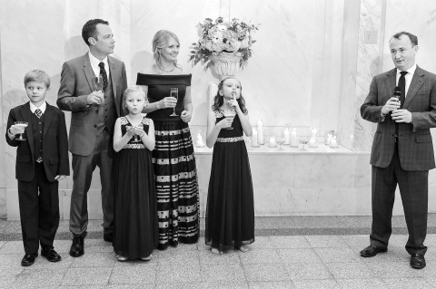 Georgia Wedding Photographer Cindy Brown documents the ordinary at a wedding reception but makes it very unique.
