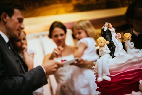 Fotógrafo alemán de bodas Heiko Schmidt - Detalle de pastel en la recepción