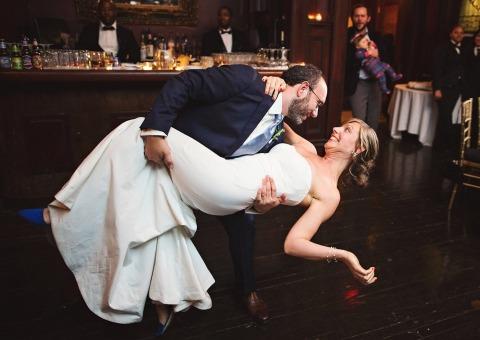 Inbal Sivan de Nueva York fotografió este gran baño en la pista de baile.