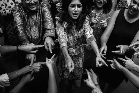 Madrid, España El fotógrafo de bodas Pedro Cabrera ama las bodas indias y las numerosas ceremonias que las acompañan.