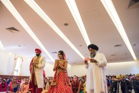 El fotógrafo de reportajes de bodas del Reino Unido, Jay Hoque, de Middlesex, fotografía las bodas indias.